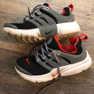 NIKE Boys 1 Prestos anthracite,wolf gray,gym red